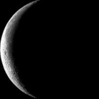 Asgrauwe maan