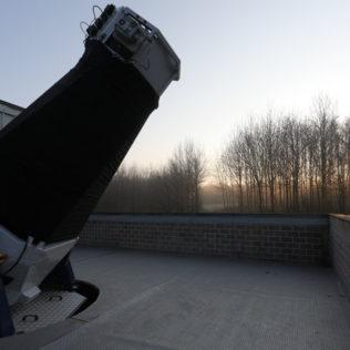 AstroLAB IRIS betrokken bij een aantal internationale onderzoeksprojecten.
