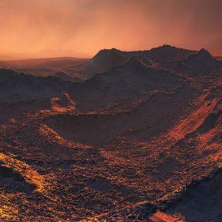 Om Ster van Barnard cirkelt een 'superaarde' – (bron ESO)